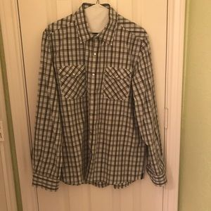Plaid Kenneth Cole Collared Shirt